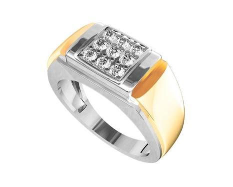 Buy Ansh Diamond Engagement Ring for Men | Diamond Solitaire Ring | Scoop.it