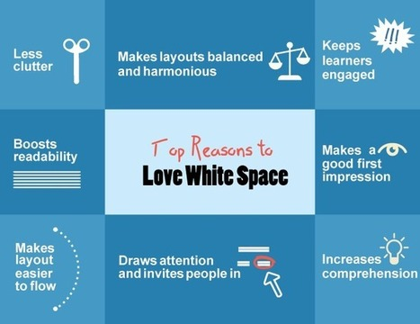 The Power of White Space to Improve Screen Design in eLearning   APRENDIZAJE   Scoop.it