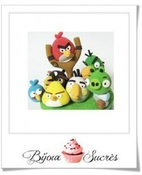 Tutos photos : Angry birds | Bijoux sucrés, Bijoux fantaisie, Bijoux gourmands, Pâte Fimo, Nail Art et Miniatures gourmandes | Bijoux Sucrés | Scoop.it