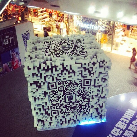 Giant QRcode 3D | QRiousCODE | Scoop.it