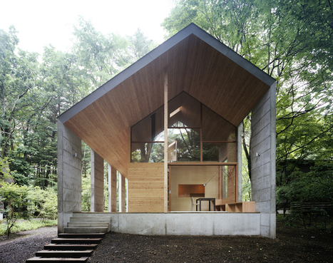 Omizubata N House in the Forest of Karuizawa by Iida Archiship Studio | sustainable architecture | Scoop.it