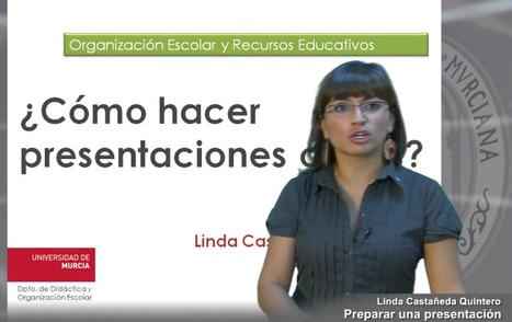 Videos: ¿Cómo preparar una presentación oral? y ¿Cómo preparar una presentación visual? | EDUCACIÓN en Puerto TIC | Scoop.it