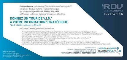 Prochain RDV Technopole à ne pas manquer... - Castres-Mazamet Technopole | Facebook | Le Bassin de Castres-Mazamet | Scoop.it