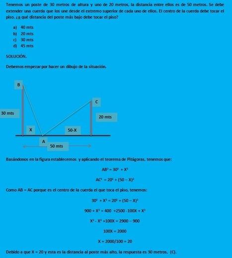 PROBLEMAS DE MATEMATICAS RESUELTOS   Matemáticas   Scoop.it