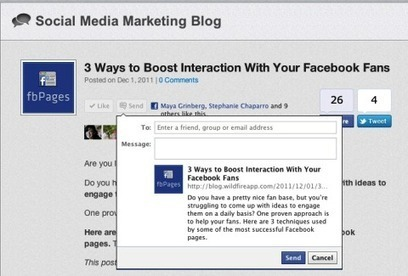 10 Ways to Add Facebook Functionality to Your Website | Social media | Scoop.it