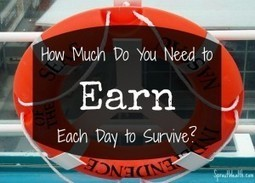 How Much Do You Need to Earn Each Day to Survive? Plus 5 Easy Ways to Make Money Now! - Sprout Wealth | Personal Finance Blogs | Scoop.it