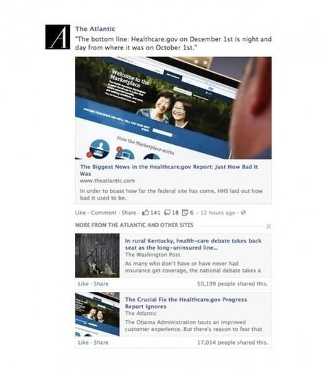 Nouveaux Changements de l'Algorithme de Facebook : l'Importance des Liens | Social Media Curation par Mon Habitat Web | Scoop.it