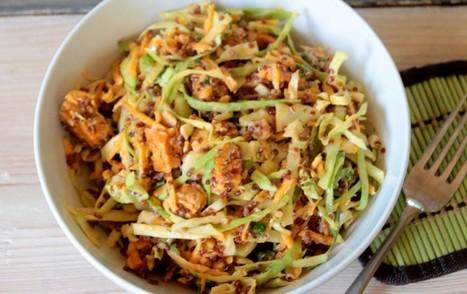 Buffalo Tempeh Quinoa Salad [Vegan, Gluten-Free] | Vegan Food | Scoop.it