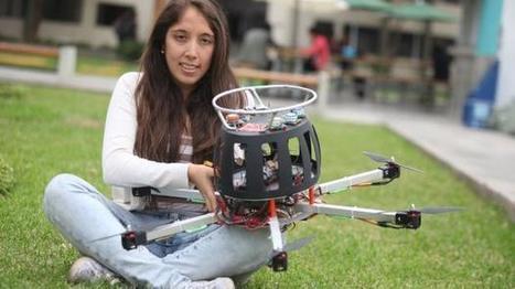 Ingeniera peruana competirá con dron por premio de US$ 1 millón | Managing Technology and Talent for Learning & Innovation | Scoop.it