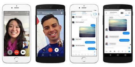 Già più di 1 milione le video chiamate su Facebook Messenger | InTime - Social Media Magazine | Scoop.it