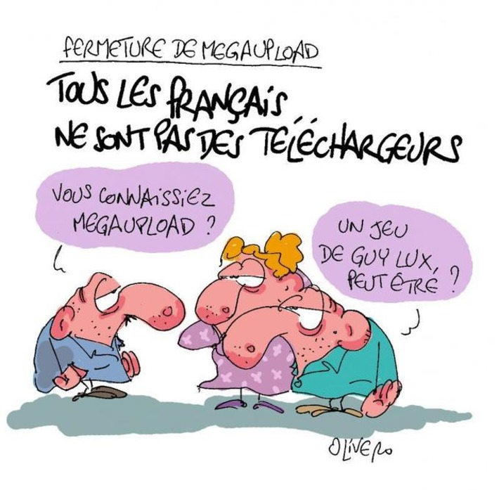 Tous les Français ne sont pas des téléchargeurs   Baie d'humour   Scoop.it