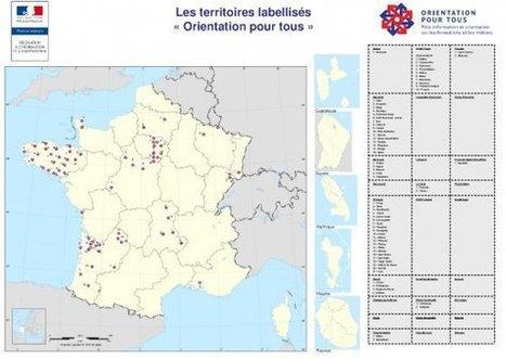 Carte des territoires labellisés « Orientation Pour Tous » | La formation tout au long de la vie | Scoop.it