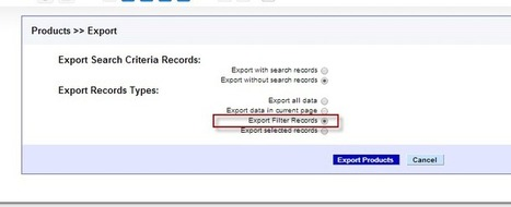 Exporting records of a filter in vtiger module | About vtigress | Scoop.it