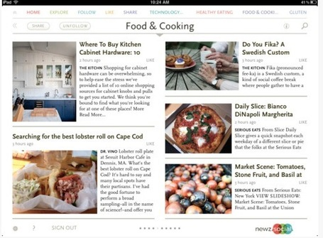 Curate Your Social Media Magazine with NewzSocial | Mobile Websites vs Mobile Apps | Scoop.it