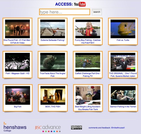Henshaws College and Jisc launch an accessible YouTube website : JISC | Online Video in Education | Scoop.it