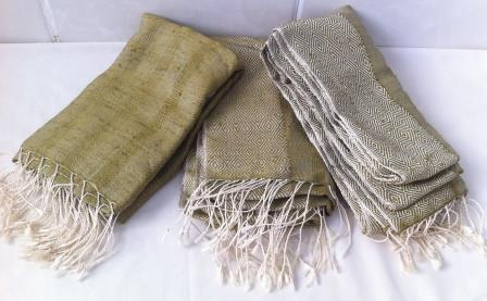 fair trade Cambodia, Golden Cocoon Natural Silk Shawl Scarf, ethically hand-woven by disadvantaged women weavers   Silk Scarfs, Ethically handmade   Scoop.it