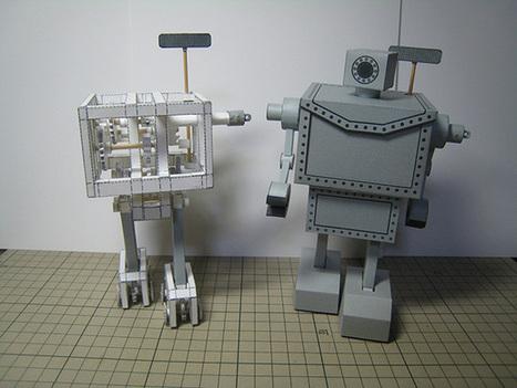Un robot fait en papier capable de marcher | Actualités robots et humanoïdes | Scoop.it