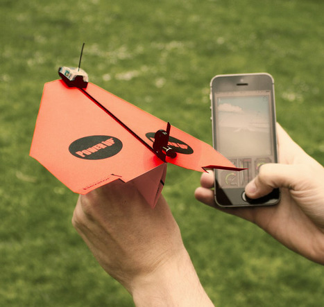 La FAA a approuvé les vols de drones en papier   Vous avez dit Innovation ?   Scoop.it