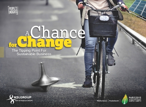 MSLGROUP - A Chance for Change: The Tipping Point for Sustainable Business | Public Relations | Scoop.it
