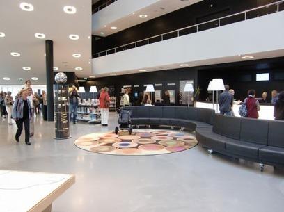 L'e-veille en 5 liens (7): spécial architecture et aménagement de bibliothèque | Aménagement des espaces et nouveaux services en bibliothèque | Scoop.it