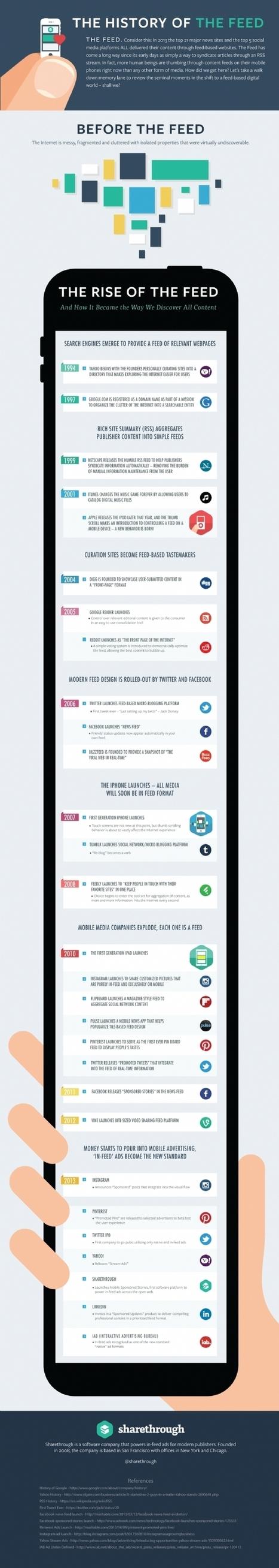 Infographie | La publicité et les flux d'information sur les réseaux sociaux | Community Manager & Social Media en France | Scoop.it