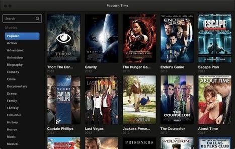 El servicio de películas pirateadas Popcorn Time vuelve bajo el nombre Time 4 Popcorn   Libertad en la red   Scoop.it