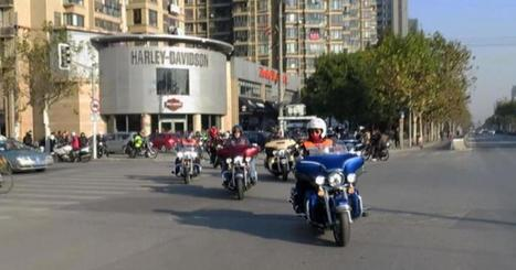 Harley-Davidsons hit the road in China | AP HUMAN GEOGRAPHY DIGITAL  STUDY: MIKE BUSARELLO | Scoop.it