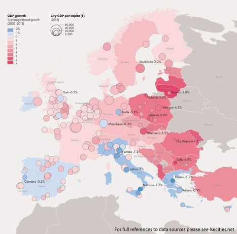 4 Maps Crucial to Understanding Europe's Population Shift | Geography Education | Scoop.it