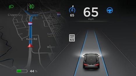 Tesla: Autopilot schlägt Menschen deutlich in Sachen Sicherheit | weekly innovations | Scoop.it