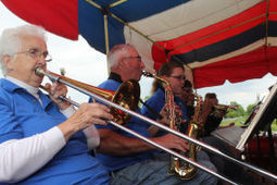 STILL SPRY AT 75: 'Uncle Herb' Rockweiler's legacy lives on in Cazenovia German Band : Reedsburg Times-Press   JazzLife   Scoop.it