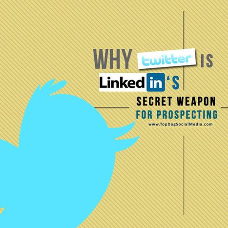 Why Twitter Is LinkedIn's Secret Weapon For Prospecting | LinkedIn | Scoop.it