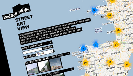 Red Bull Street Art View – Para colocar a arte de rua no mapa ... | Urban Life | Scoop.it