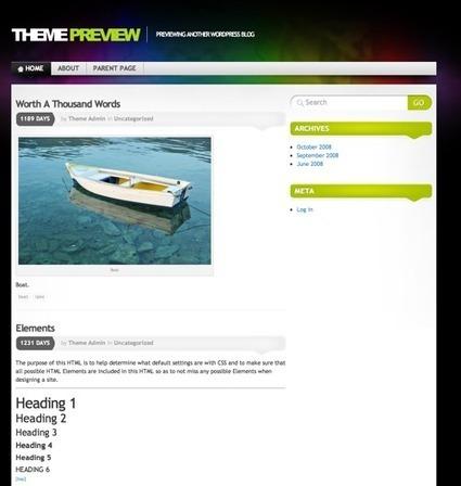 WordPress Theme Design and Development Trends for 2012 | Smashing WordPress | Evernote Tips & News | Scoop.it