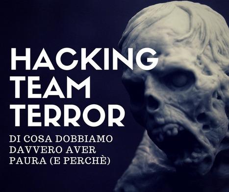 HackingTeam Terror: di cosa avere DAVVERO paura | Science, Technology and Live impacts | Scoop.it