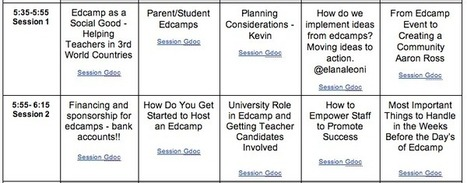 Teachers as Technology Trailblazers: An Edcamp for Edcamp Organizers #ISTE2014 #edcamp | Pure Edcamp | Scoop.it