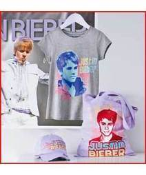 Buy Justin Bieber Girls' Ultimate Fan Pack - 10-11 Years at Argos.co.uk - Your Online Shop for Tops and t-shirts, Justin Bieber. | Gifts for Justin Bieber Fans | Scoop.it