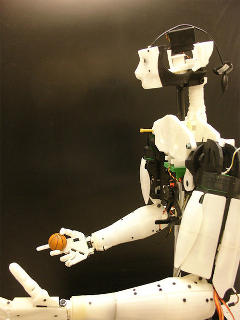 3D Printed iRobot Is Made Available To Everyone Through Open Source | Digital-News on Scoop.it today | Scoop.it