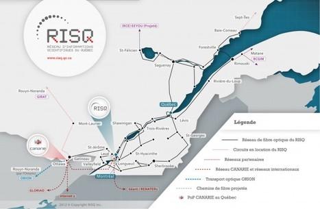 RISQ : le premier réseau Internet du Québec a 25 ans   La recherche dans les cégeps   Scoop.it
