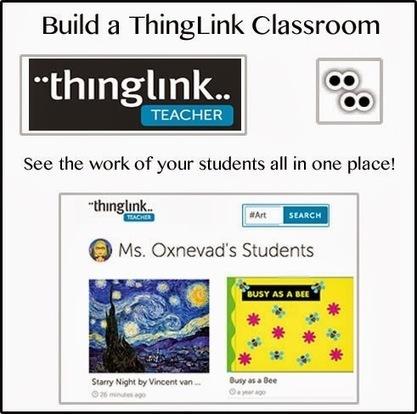 Cool Tools for 21st Century Learners: Build Your ThingLink Classroom | Technology for teachers - Digitala verktyg för lärare | Scoop.it