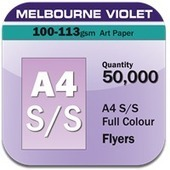 1 Page A4 Flyers 100gsm Melbourne | online printings Australia | Scoop.it