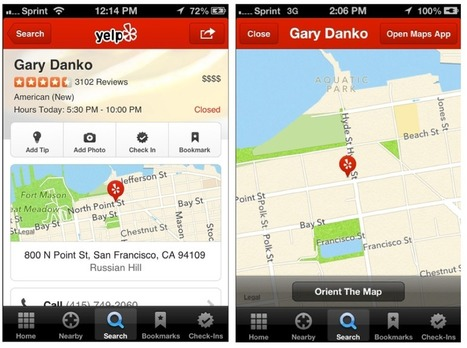 Yelp Makes the Switch to Apple Maps   Lokale Suche News   Scoop.it