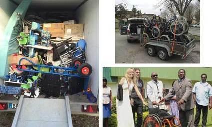 Fauteuils usagés, une nouvelle vie vers l'Afrique | On innove à l'hôpital | Scoop.it