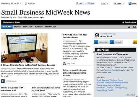 """July 4 - """"Small Business MidWeek News"""" is out 