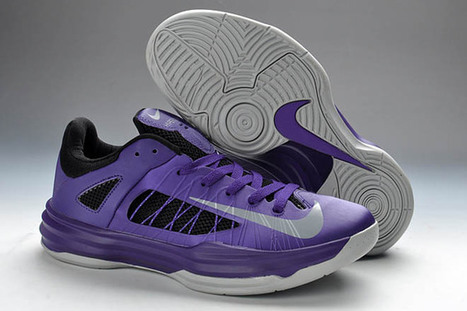 Purple and Silver Nike Lunar Hyperdunk + 2012 Low Shoes Mens   share and want   Scoop.it