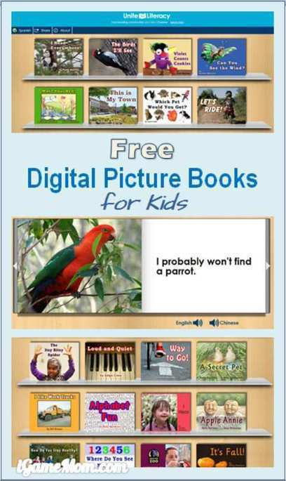 Free Digital Picture Books for Kids from Unite for Literacy | iGameMom | LibertyE Global Renaissance | Scoop.it