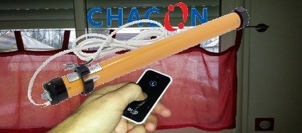 Installer une motorisation de volet roulant Di-O by Chacon | Hightech, domotique, robotique et objets connectés sur le Net | Scoop.it