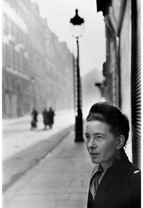 """""""No se nace mujer: llega una a serlo"""", Simone de Beauvoir   Cuerpo   Scoop.it"""