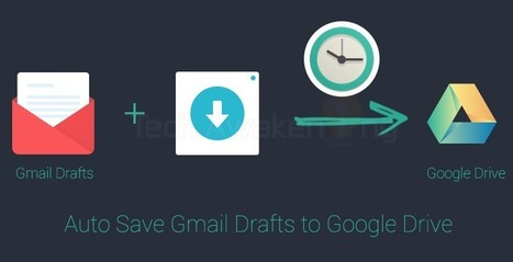 How to Automatically Backup Gmail Drafts to Google Drive Periodically | Google Apps Script | Scoop.it