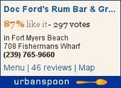 Doc Ford's at Fort Myers Beach – Huge menu, Huge restaurant ... | Real Estate Cape Coral or Fort Myers Florida | Scoop.it