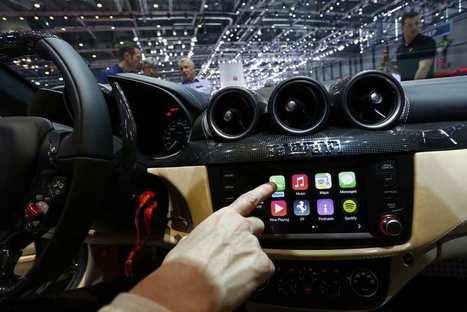 Les constructeurs auto font monter Apple et Google à bord | Radio 2.0 (En & Fr) | Scoop.it